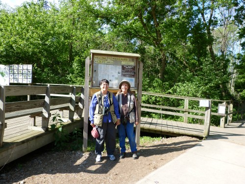 Sandy and Shelley at Magee Marsh