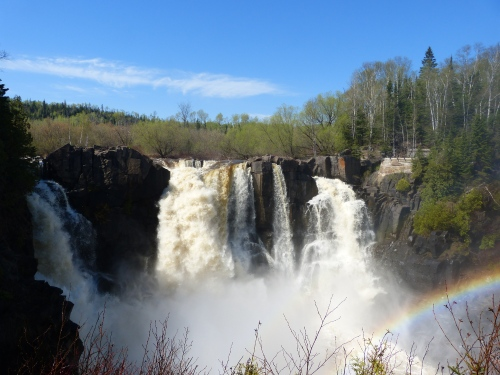 High Falls on the Pigeon River.  Grand Portage State Park.