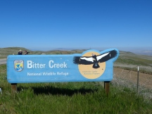 Bitter Creek NWR sign