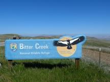 Bitter Creek NWR sign