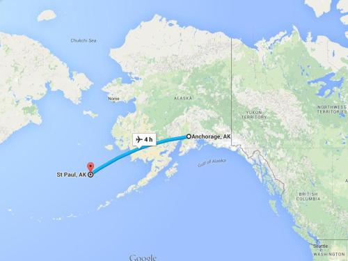 Anchorage to St Paul