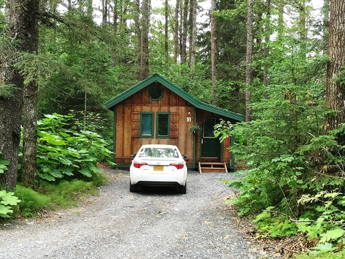 Our Abode Well cabin near Seward
