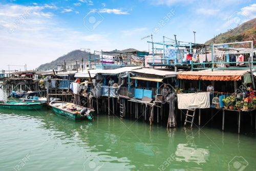 Stilt houses at Tai O.
