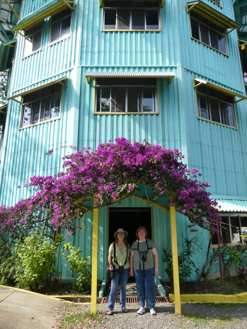 Diane and me in front of Canopy Tower