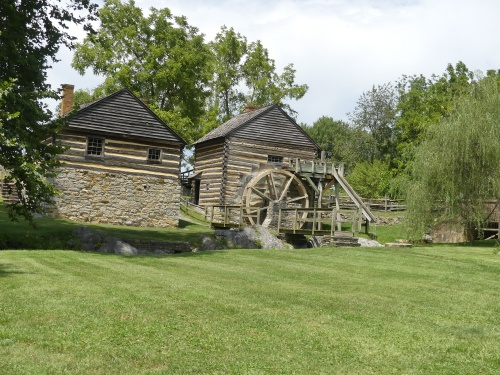 The old mill at McCormick Farms